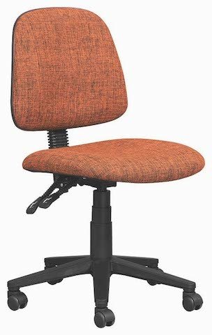 Orange Typist Chair
