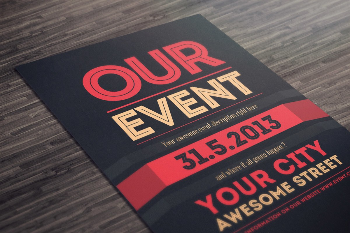 Flyers Poster Template Design and Print