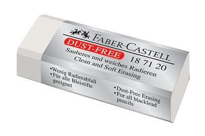 large dust free eraser