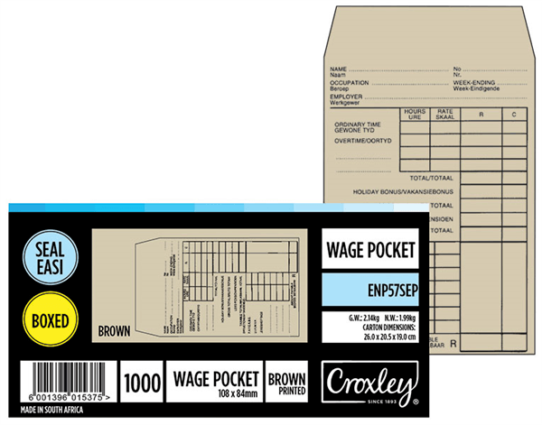 Wage Envelope