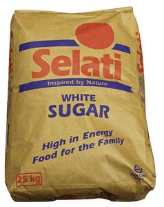 White sugar 25kg