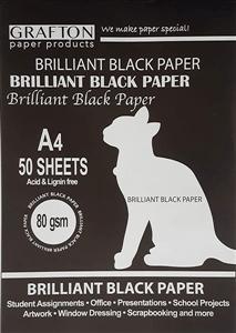 GRAFTON - 160GSM BOARD PADS A4 20 Sheets