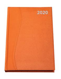 Orange A4 diary