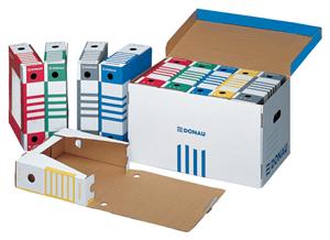 DONAU - ARCHIVE FILING BOXES & BOX SET
