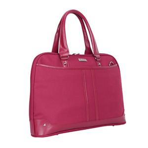 red sling laptop bag