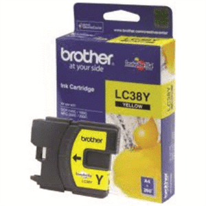 BROTHER INK - LC38 Yellow