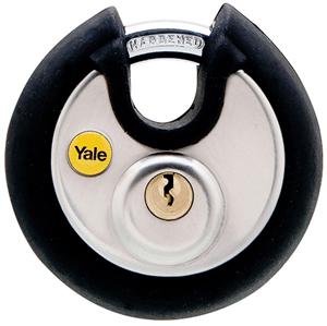 Yale discus padlock