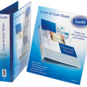 BANTEX - A4 CREATE-A-COVER PRESENTATION BINDERS 70mm Lever Arch