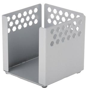 HEX-PUNCHED STEEL DESK RANGE Paper Cube Holder