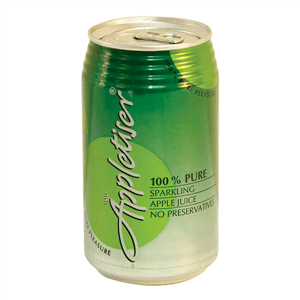 CANNED BEVERAGES Appletizer White Can 300ml