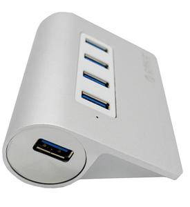 ORICO - 4 PORT USB HUBS USB3.0 - Aluminium
