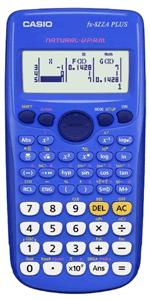 CASIO - FX82ZA SCIENTIFIC CALCULATOR 12 Digit - Blue