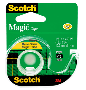 3M SCOTCH MAGIC TAPE 12.5mm x 20.3m