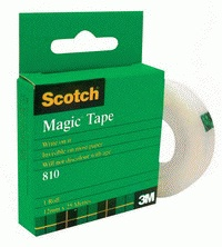 3M SCOTCH MAGIC TAPE 12mm x 25m 25mm Core