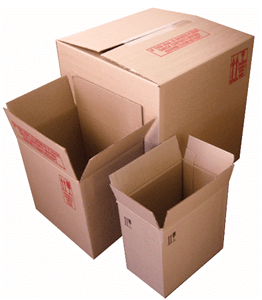 PACKAGING CARTONS No. 3 250 x 150 x 250mm