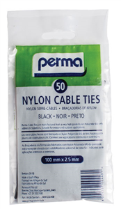 PERMA - CABLE TIES 100mm x 2.5mm