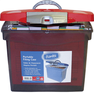 BANTEX - PORTABLE FILING CASE