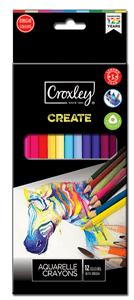 CROXLEY CREATE - AQUARELLE COLOURED PENCILS