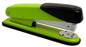 GENMES - METAL STAPLERS E527 Half Strip - Lime Green