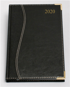 CTP - 2020 EXECUTIVE DIARIES A5 Page-a-Day - Black