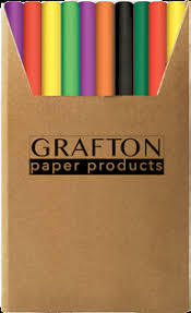 GRAFTON - BOOK COVER ROLLS 500mm x 700mm - Black 3 Pack