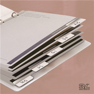 3L - INDEX TABS - White 48 Pack