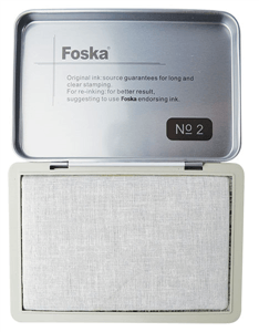 FOSKA - METAL STAMP PAD No.2 122 x 84mm