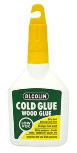 ALCOLIN - COLD WOOD GLUE 125ml
