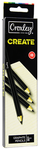 CROXLEY CREATE - PENCILS HB 12 Pack