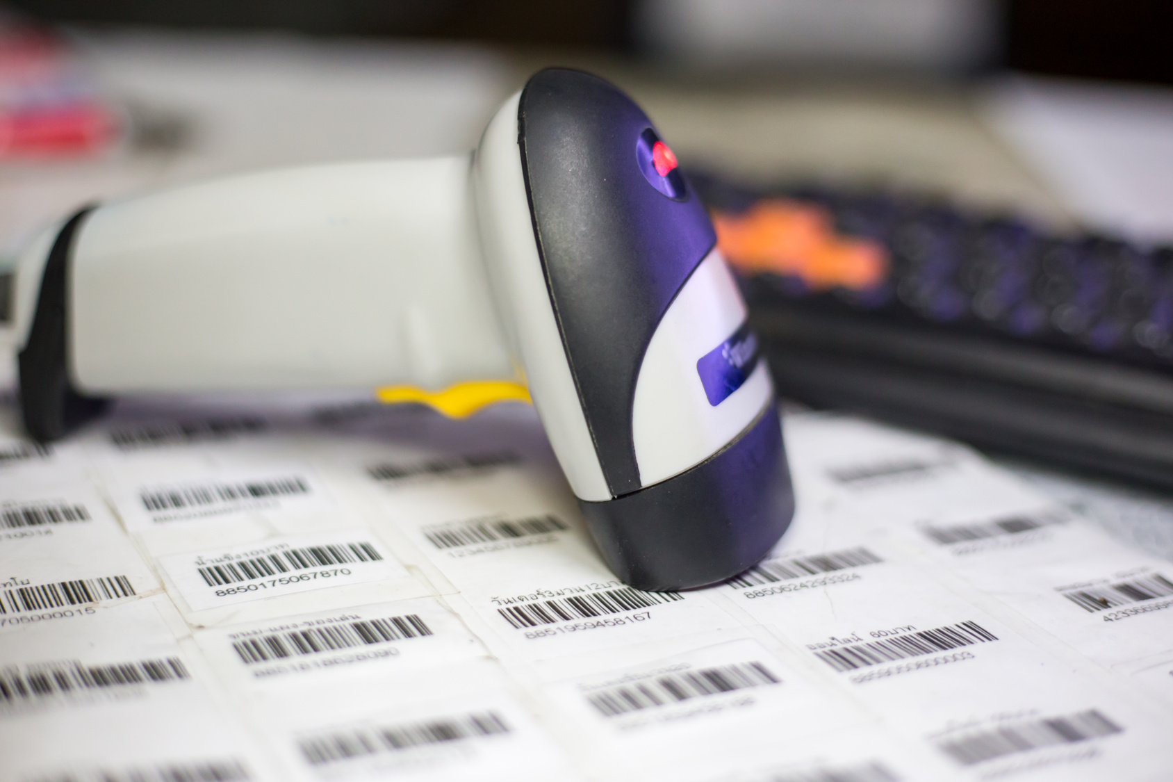 Barcode Sticker Labels